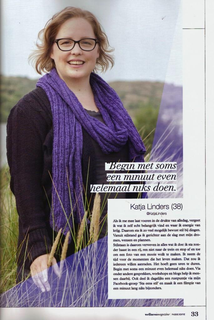 Wellness magazine passie Katja Linders