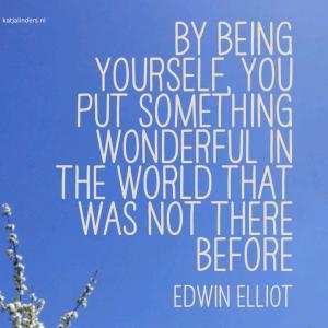 bij being yourself